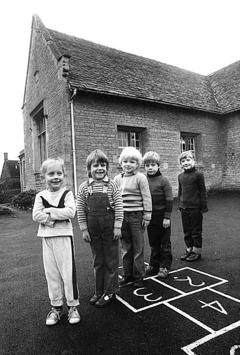 The Last 5 Pupils at Churchill School, Oxfordshire.